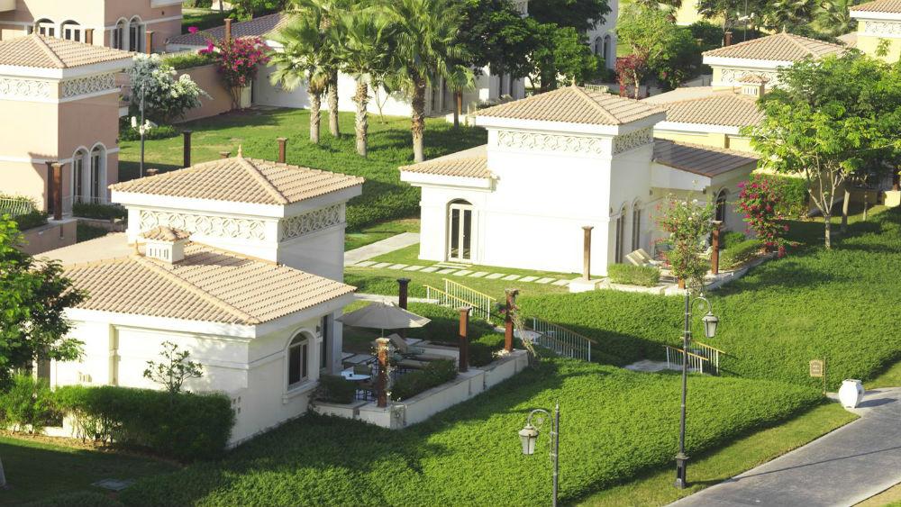 Garden Suite Exterior at the Ritz Carlton Abu Dhabi