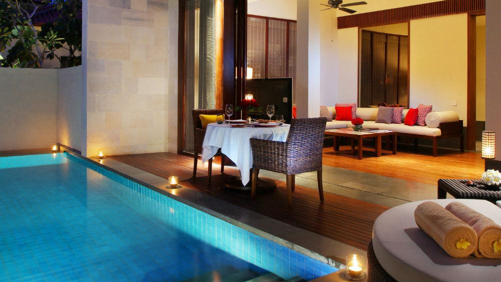Guest room 5 at Fairmont Sanur Beach Bali