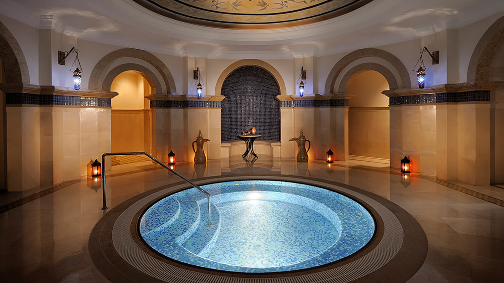Luxury Hammam at Arabian Court at One&Only Royal Mirage