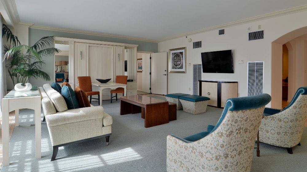 Hospitality Parlor Suites at the Loews Portofino Bay Hotel at Universal