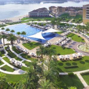 Hotel Aerial View Ritz Cartlon Abu Dhabi