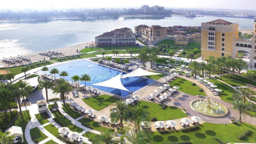 Hotel Aerial View, Ritz Cartlon Abu Dhabi