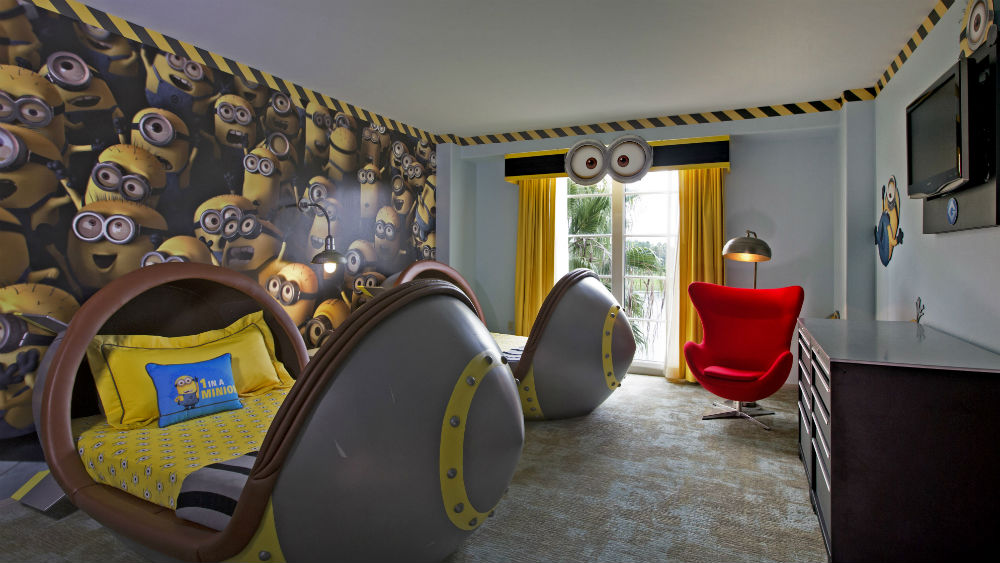Kids Suites at the Loews Portofino Bay Hotel at Universal