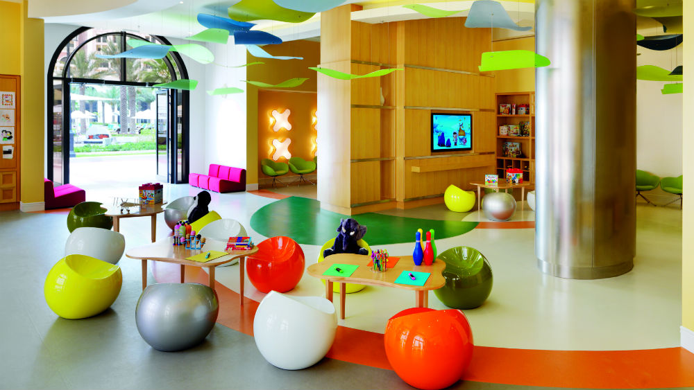 Kids zone, Ritz Cartlon Abu Dhabi