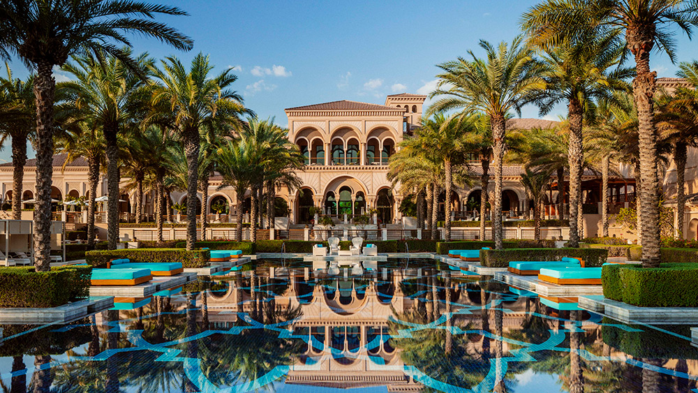 The main pool at Manor House at One&Only The Palm