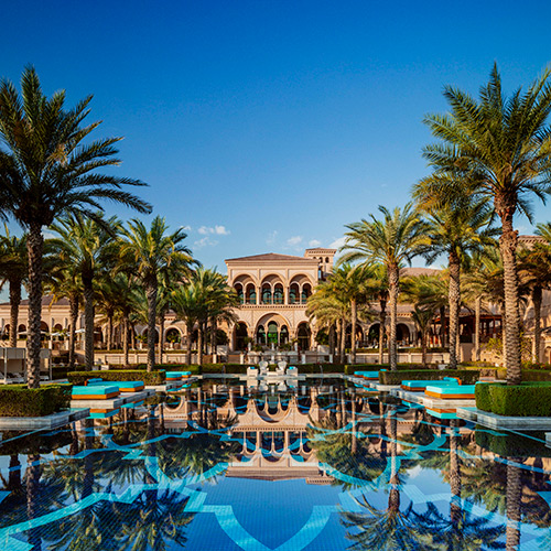 Main pool at the Manor House at One&Only The Palm