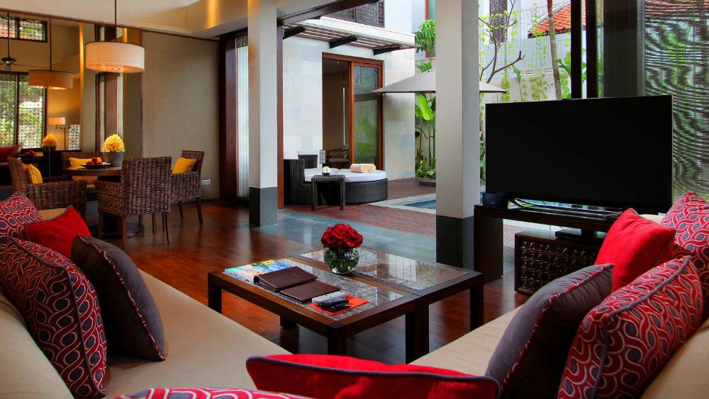 One bedroom pool villa at Fairmont Sanur Beach Bali