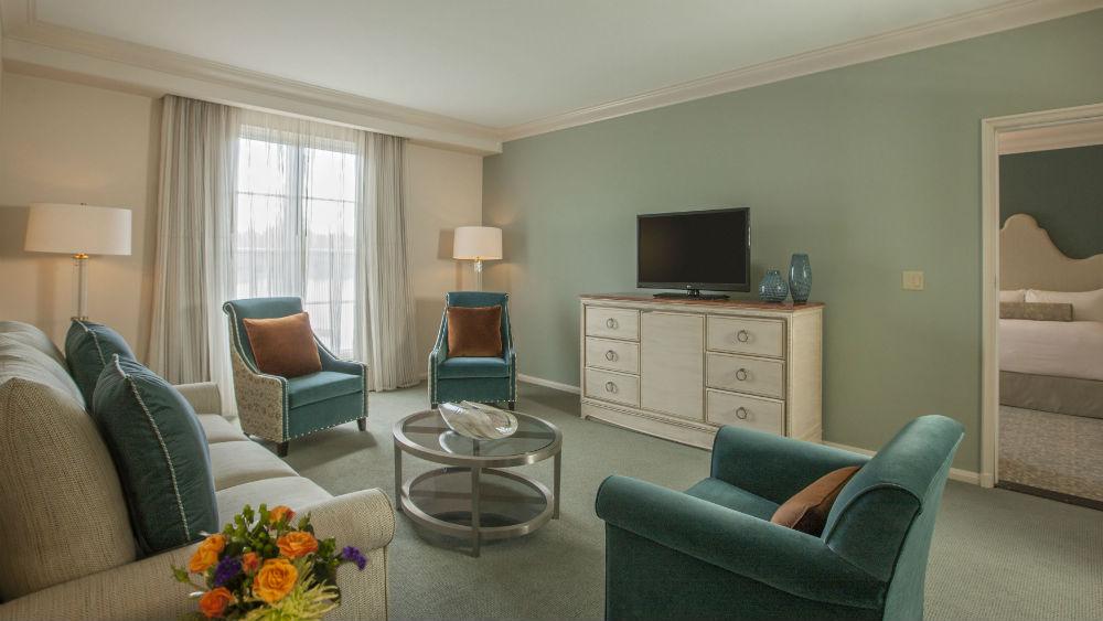 Portofino Parlor Suites at the Loews Portofino Bay Hotel at Universal