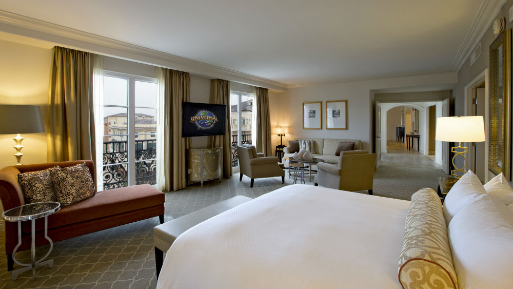 Presidente Suites at the Loews Portofino Bay Hotel at Universal