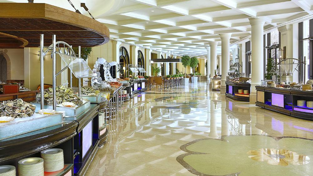 Restaurant at the Ritz Cartlon Abu Dhabi