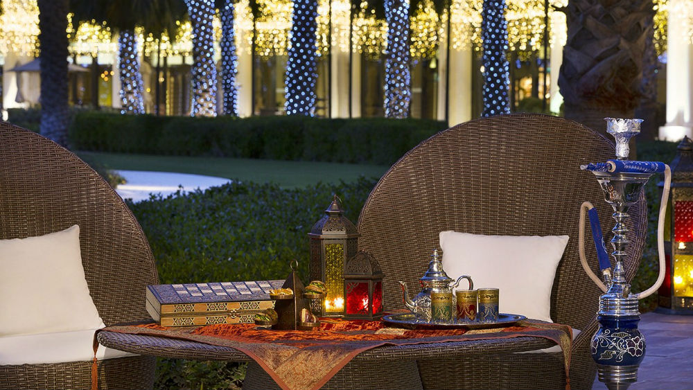 Sisha Terrace at the Ritz Cartlon Abu Dhabi