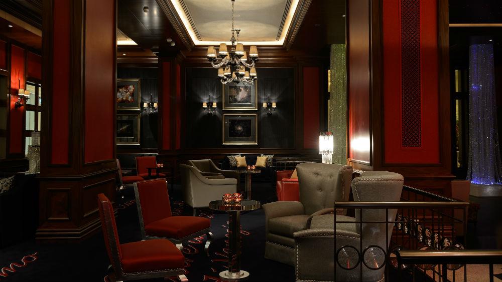 Sorso lobby bar, Ritz Cartlon Abu Dhabi