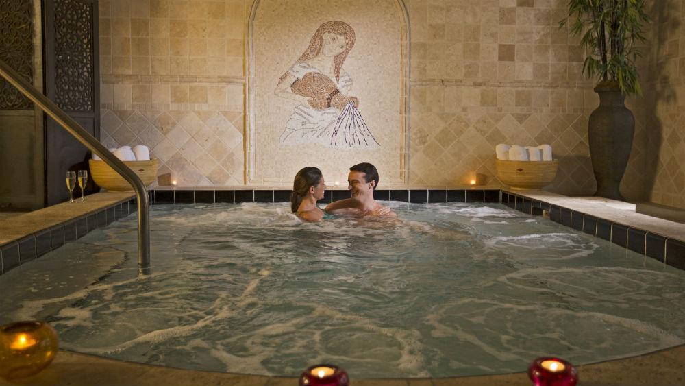 The Spa Mandara at the Loews Portofino Bay Hotel at Universal