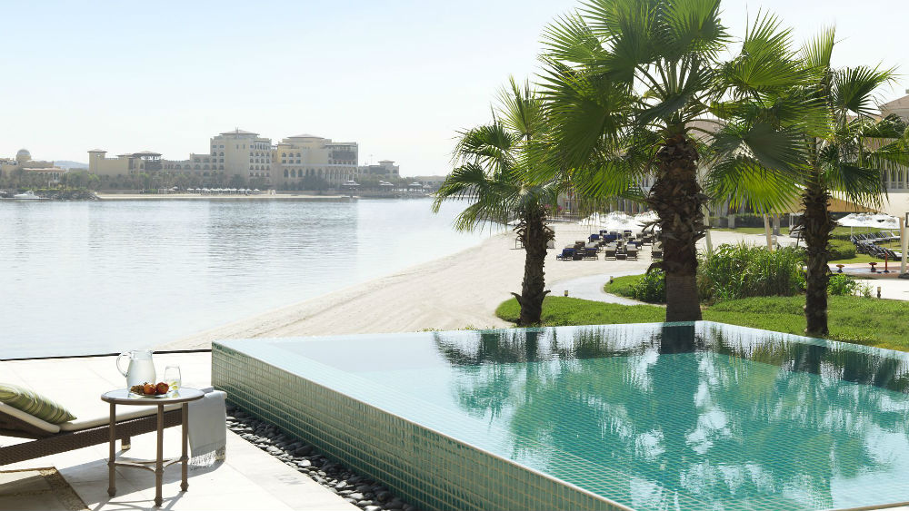 TWO-BEDROOM VILLA WITH PLUNGE POOL Ritz Carlton Abu Dhabi