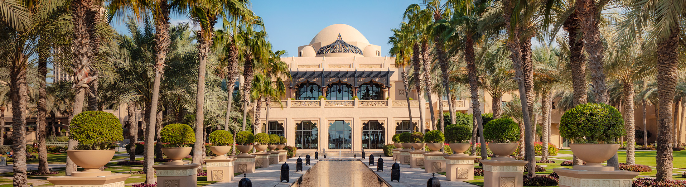 Exterior of Arabian Court One&Only Royal Mirage