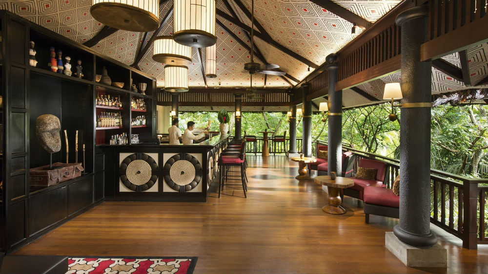The Huna Bar at the Constance Lemuria Seychelles