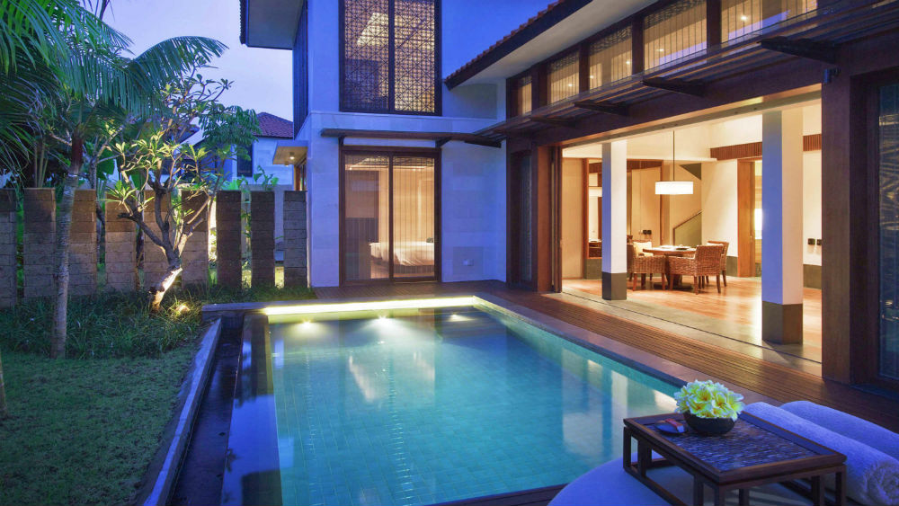 Two bedroom pool villa at Fairmont Sanur Beach Bali