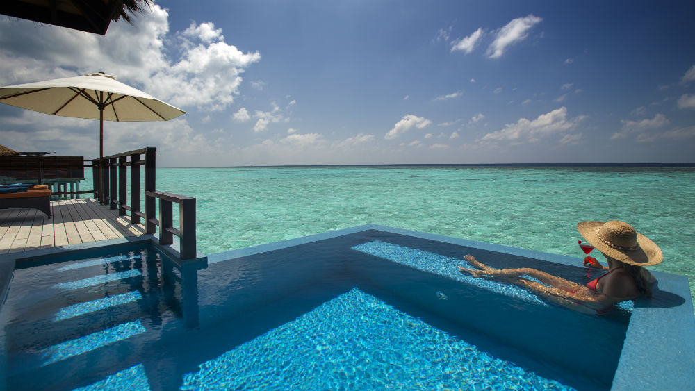 water Villa with a pooll, Velassaru Maldives