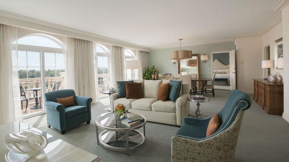 Villa Parlor Suites at the Loews Portofino Bay Hotel at Universal