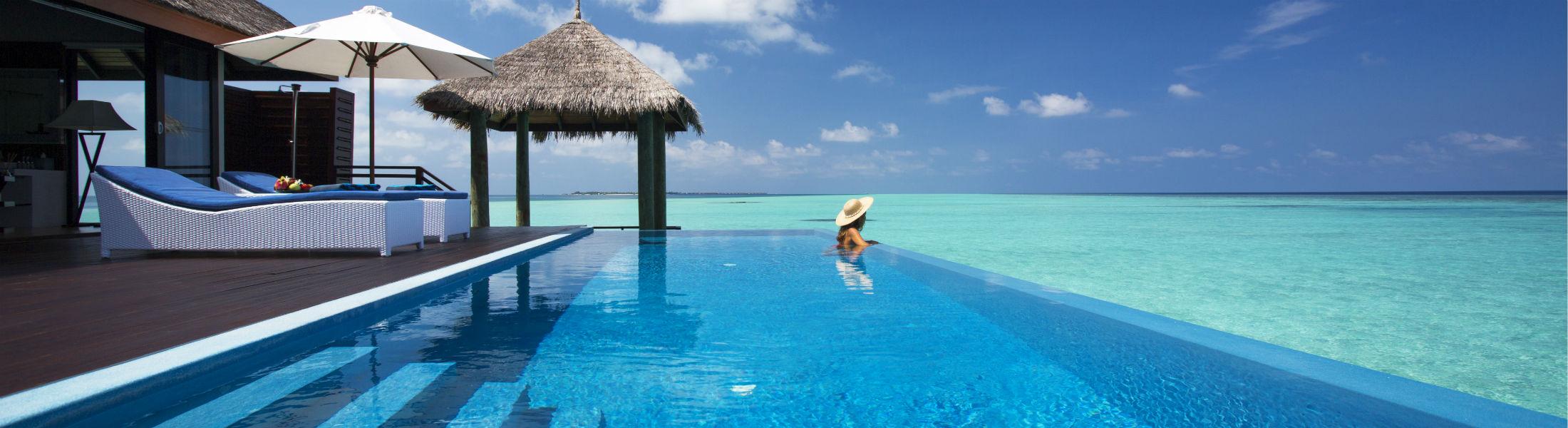 Water Suite pool, Velassaru Maldives