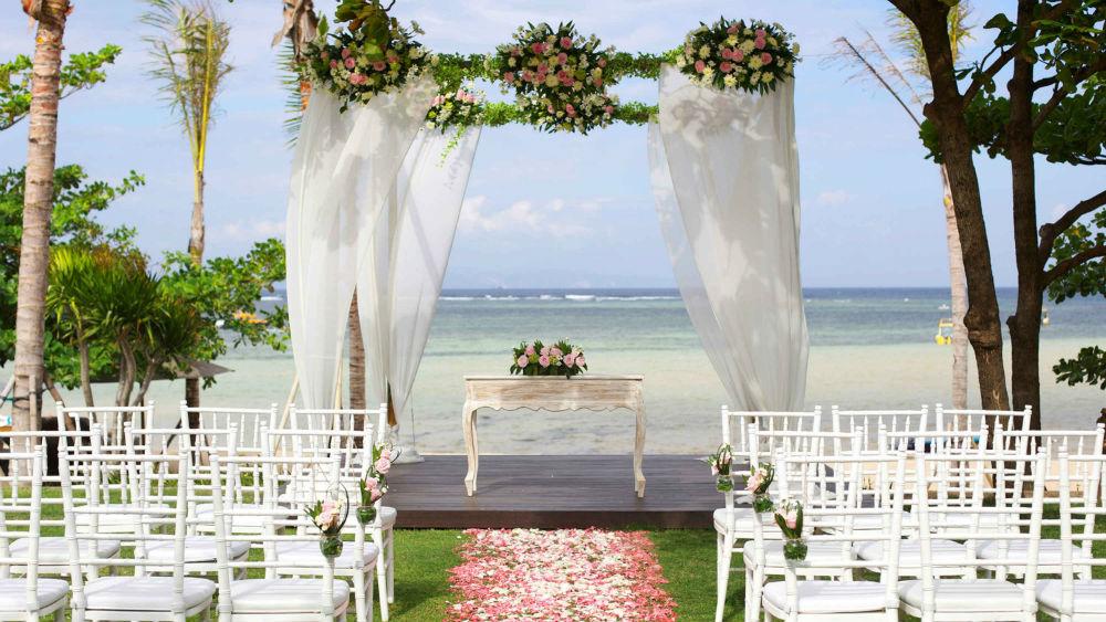 Wedding event at Fairmont Sanur Beach Bali