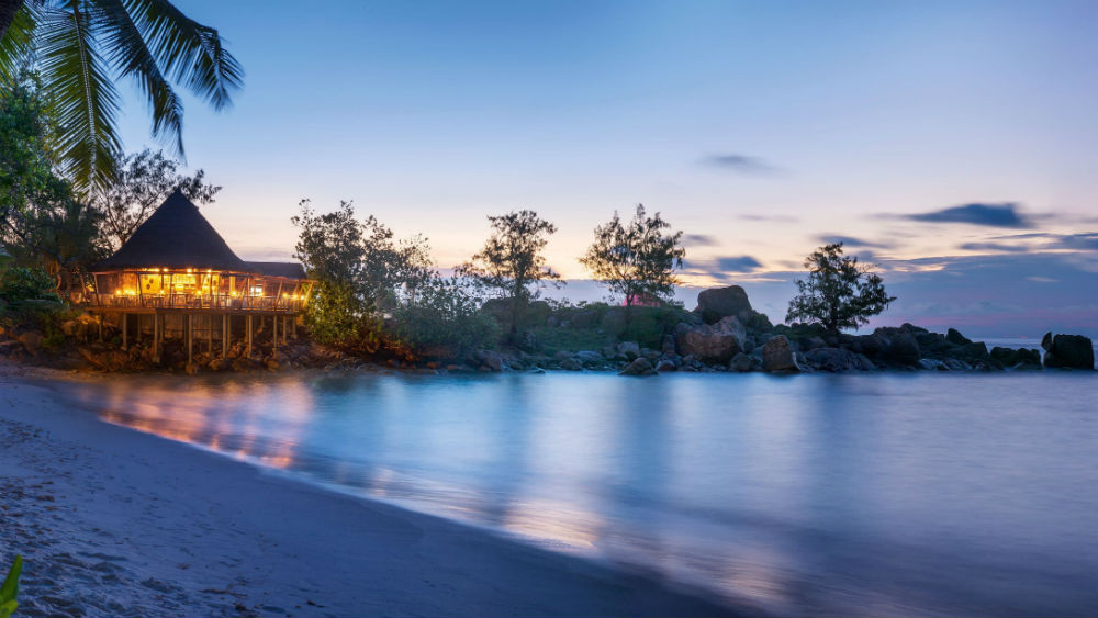 the nest restaurant and bar at the Constance Lemuria Seychelles