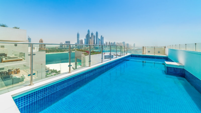 4 bedroom residence at the Five Palm Jumeirah