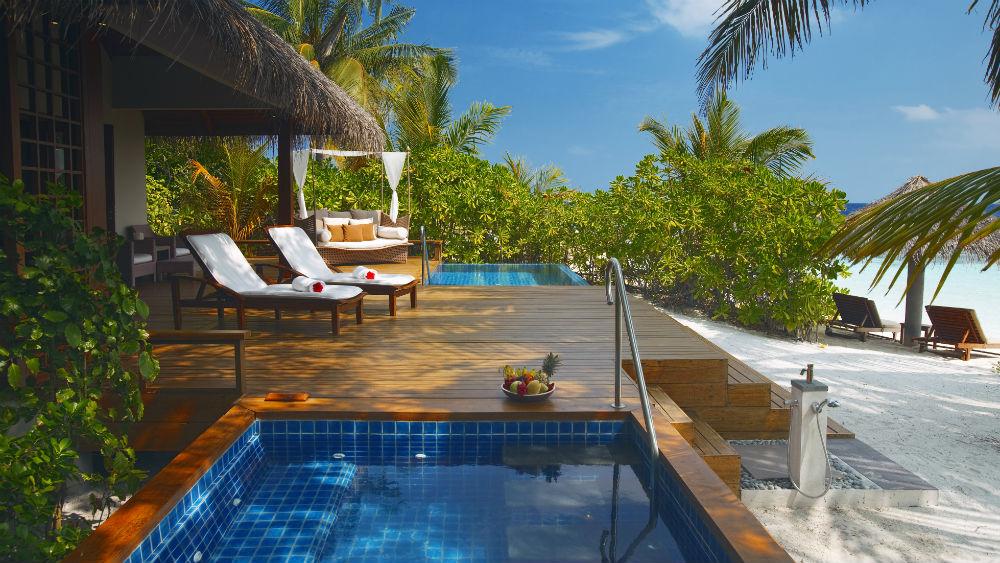 Baros Premium Pool Villa at the Baros Maldives