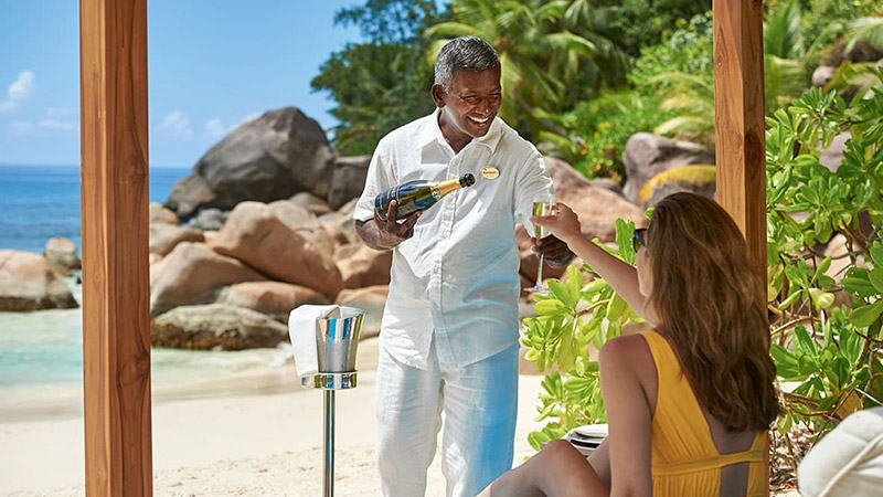 Beach Dining - Constance Seychelles - Island Honeymoon