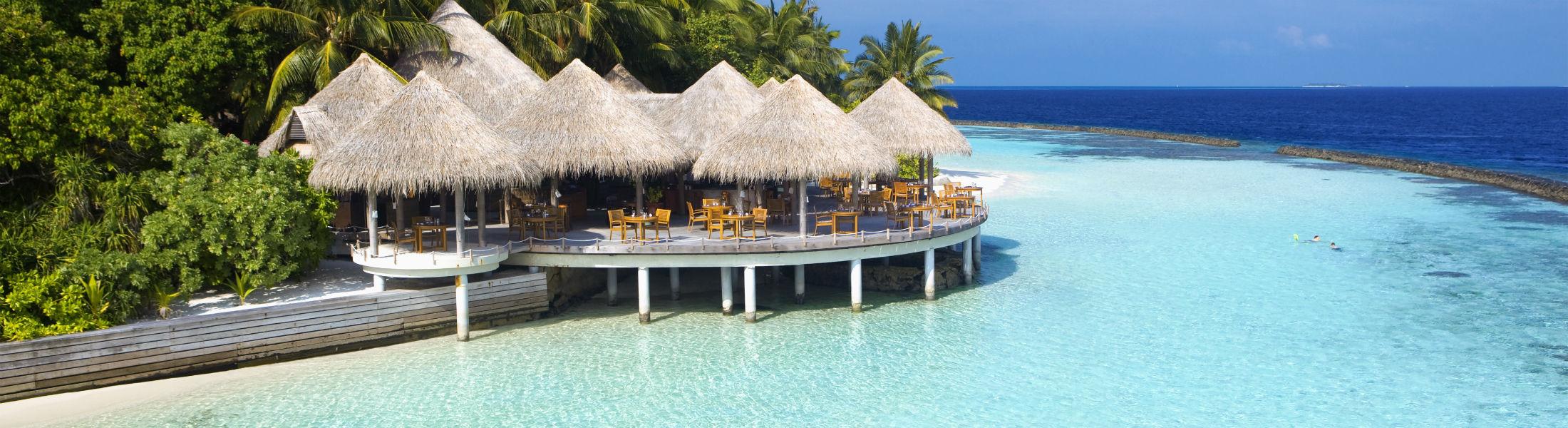 Cayenne restaurant at the Baros Maldives