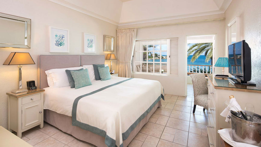 Deluxe Beachfront Room at the Blue Waters Antigua