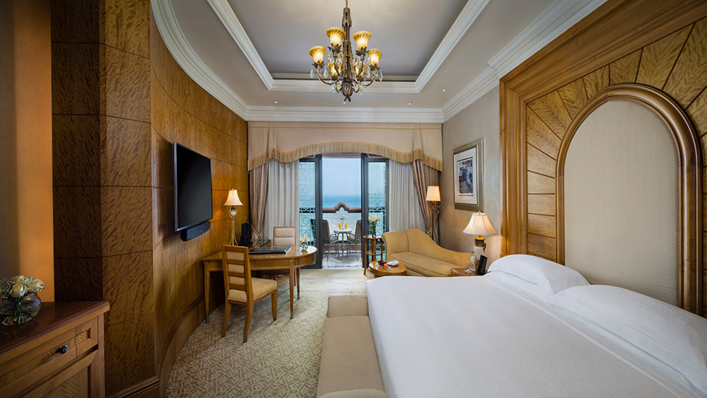 Bedroom of the Diamond Room at Emirates Palace
