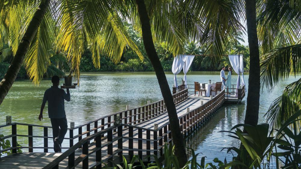 Dine by Design at the Green Lagoon with Couple Shangri-La Villingili Maldives