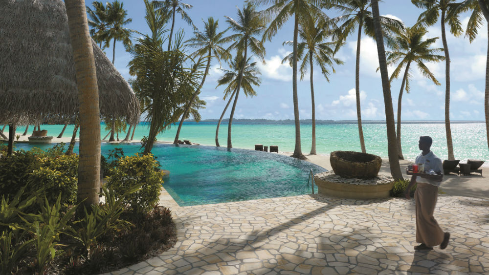 Endheri pool at the Shangri La Villingili Maldives