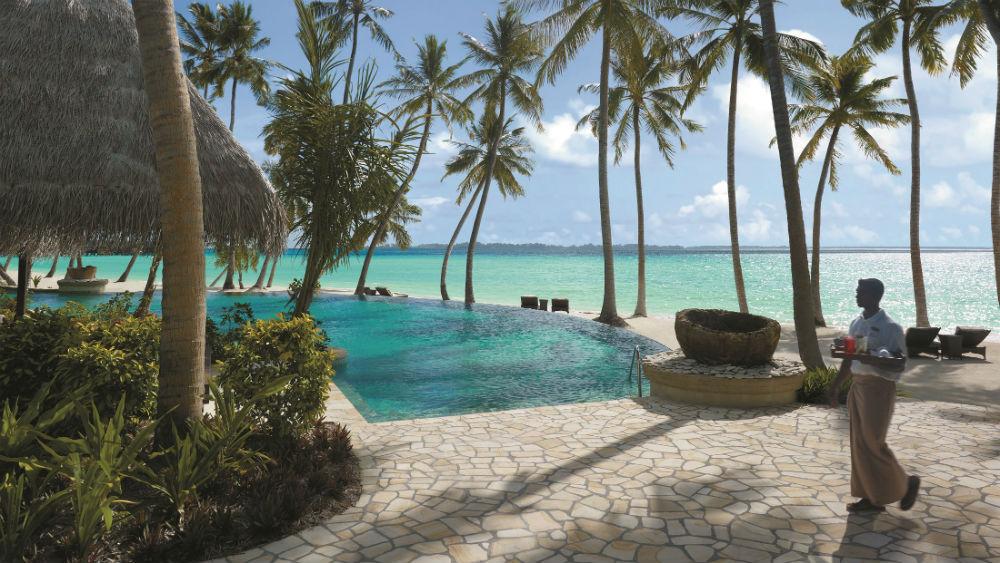 Endheri pool at the Shangri La Villingili Maldives
