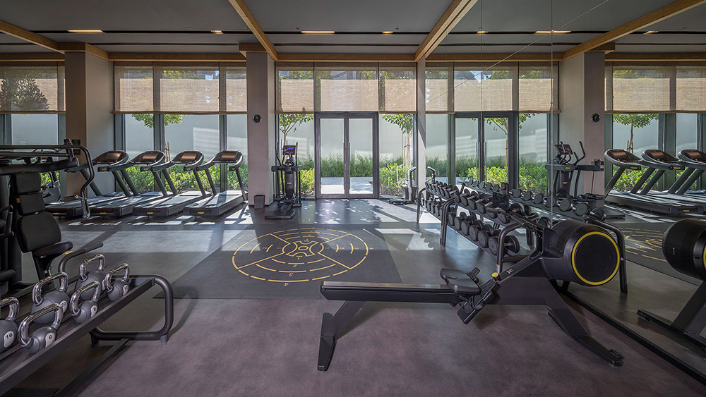 Fitness Centre at Caesars Palace Bluewaters
