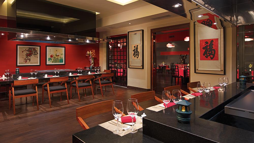 Himitsu Japanese Restaurant at Dreams Tulum Resort & Spa