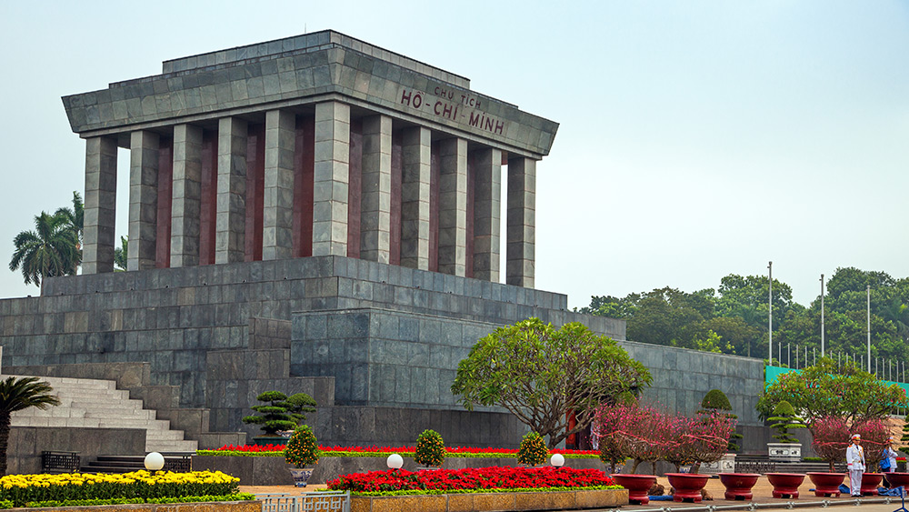 Mausoleum of Ho Chi Minh in Hanoi