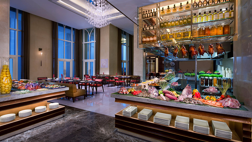 Buffet at Ingredients Restaurant at Anantara Eastern Mangroves Hotel & Spa