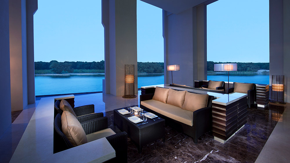 Terrace at Ingredients Restaurant at Anantara Eastern Mangroves Hotel & Spa