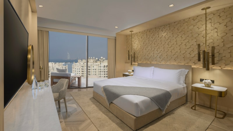 Junior Suite Sea View at the Five Palm Jumeirah