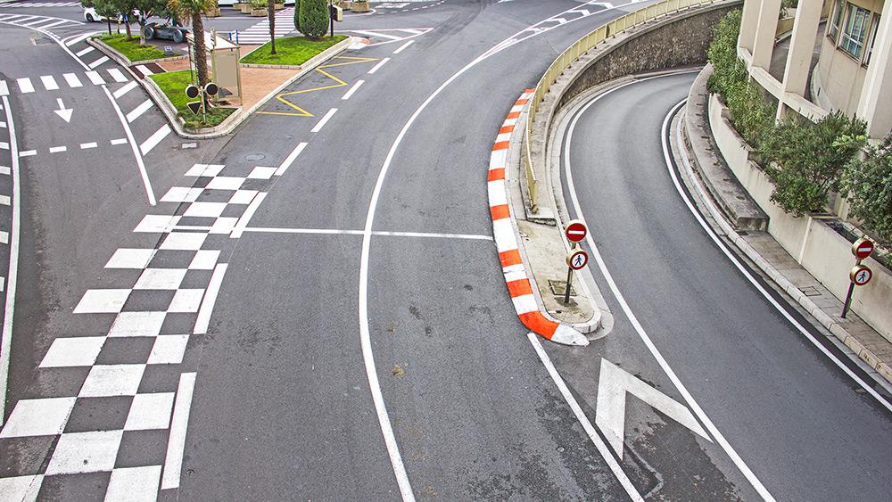 La Rascasse corner in Monaco