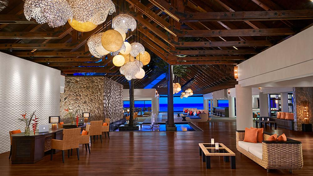 Lobby at AVANI Barbarons Seychelles