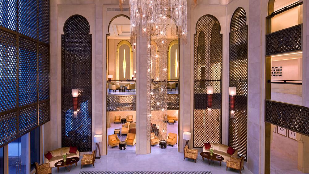 Lobby at Anantara Eastern Mangroves Hotel & Spa