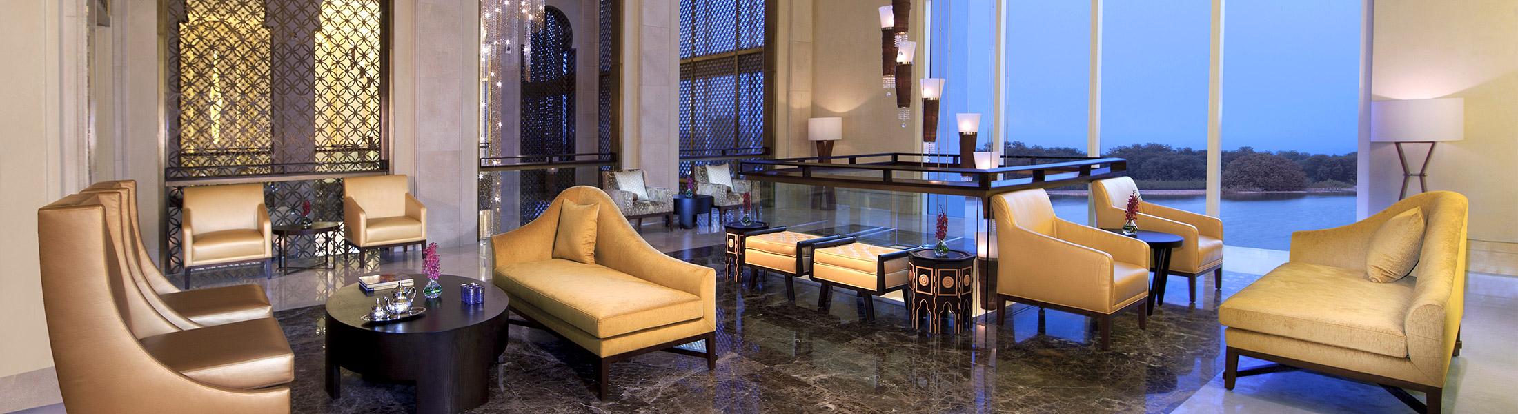 Lobby Lounge of the Anantara Eastern Mangroves