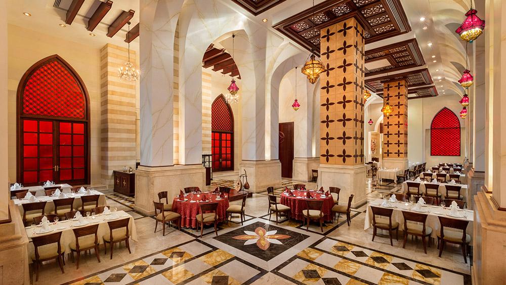 Mawal Restaurant at Emirates Palace