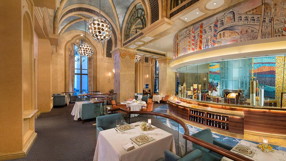 Mezzaluna Restaurant at Emirates Palace