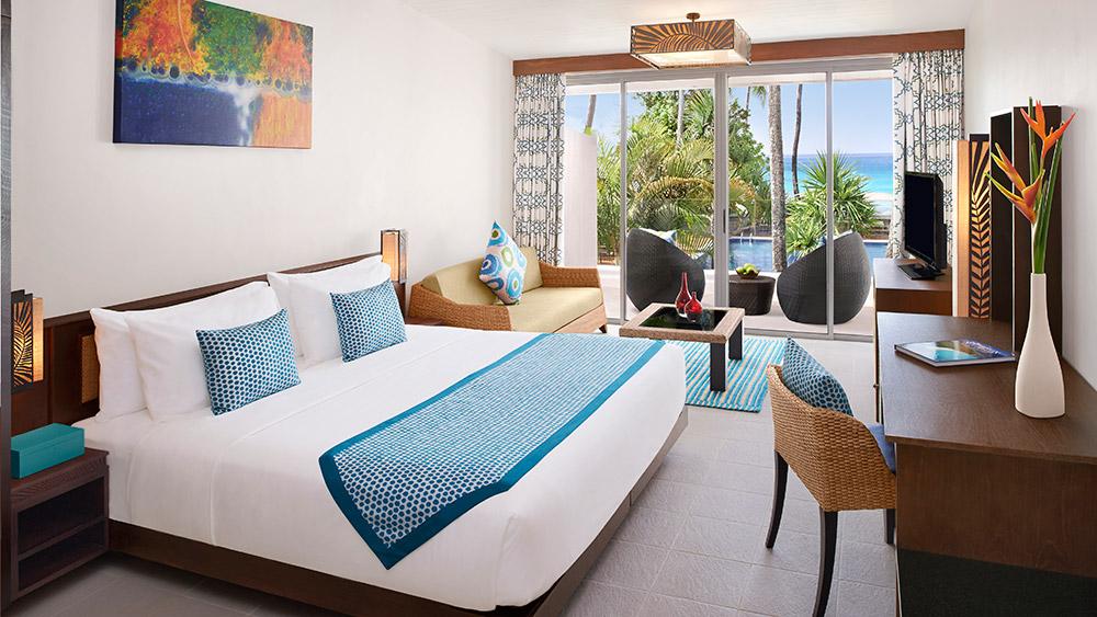 Bedroom with Ocean Views at AVANI Barbarons Seychelles