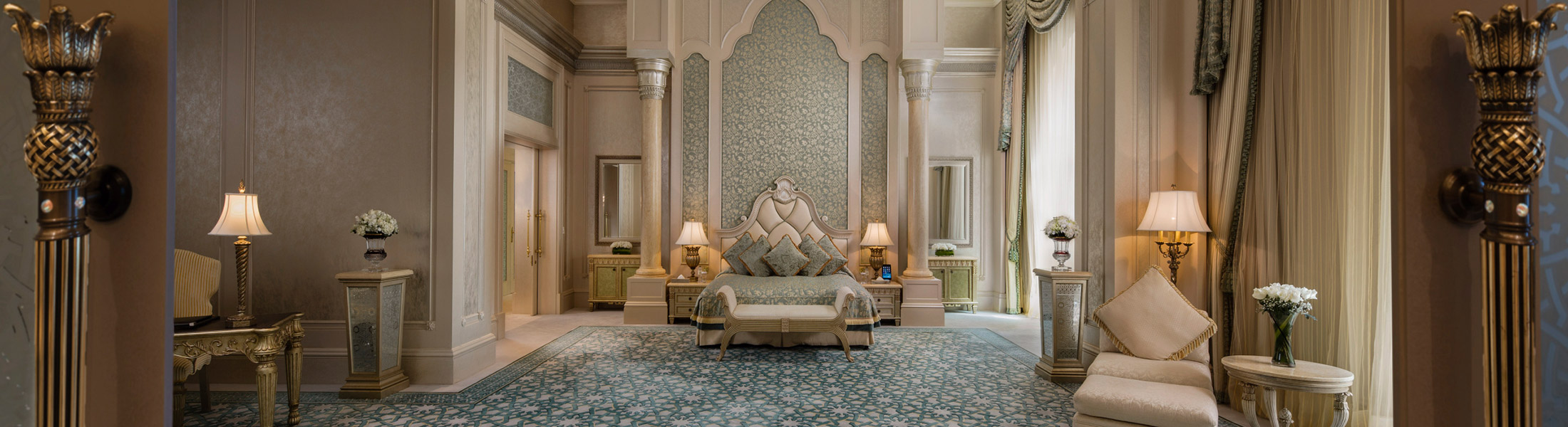 Bedroom of the Palace Suite at Emirates Palace