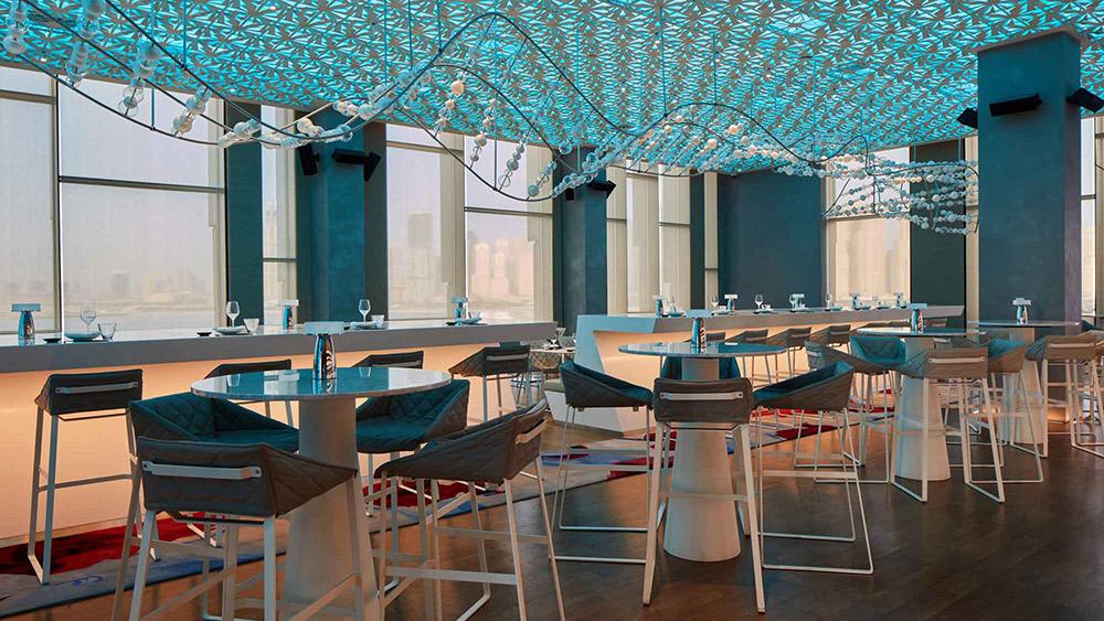 Paru Restaurant at Caesars Resort Bluewaters
